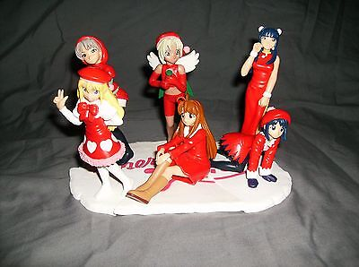 Love Hina Christmas Prize Figures Completed Set (2001)