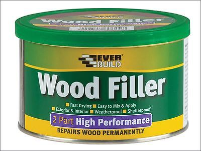 Everbuild - Wood Filler High Performance 2 Part Medium Stainable 500g