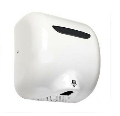 New White Stainless Steel Wall Mounted Automatic Induction Hand Dryer Machine