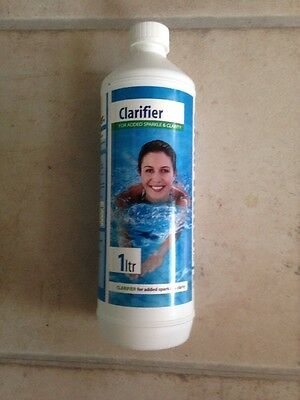 Bestway Clearwater 1 Litre Clarifier Hot Tub Spa And Pool Treatment