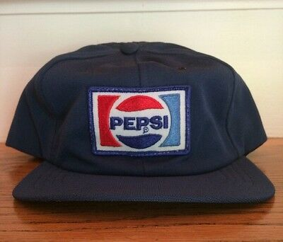Pepsi Vintage Trucker Snap Back Hat