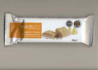 20x Exante Diet VLCD Lemon & Yoghurt Bars (MRP) - Lot 2