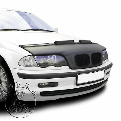 BMW 3 E46 Coupe & Sedan BRA MASK 98 99 00 01 Custom Bra Car Hood Mask