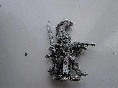 Warhammer 40k Metal Eldar Dire Avenger Exarch Games Workshop OOP