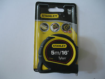 TAPE MEASURE STANLEY 5M /16' 0-30-696 NEW £4.89 FREE Postage