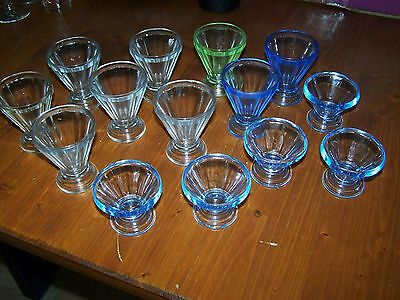 Lot 14 Verres Anciens 1930 Bistrot Couleur Collection
