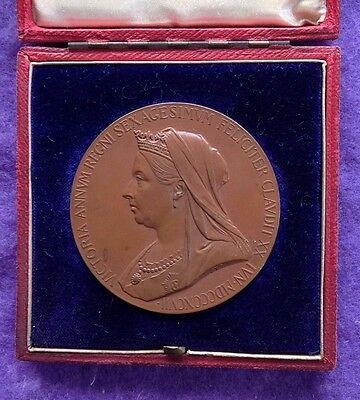 historical medals medallions - 1897 Diamond Jubilee of Queen Victoria