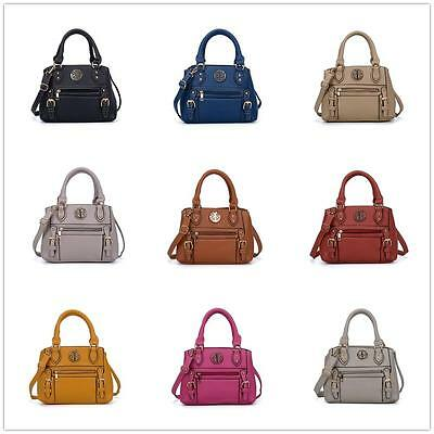 WHOLESALE Joblot Of 10 Ladies Faux Leather Handbags Designer Inspire Badge Bags