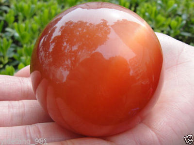 Hot Sell ASIAN QUARTZ RED CAT EYE CRYSTAL BALL SPHERE 60MM + STAND