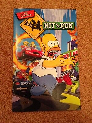 Manual Only (no Game) - Simpsons Hit And Run - Playstation 2 - PS2