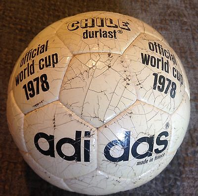 Official World Cup Adidas Chile durlast 1978 made in france