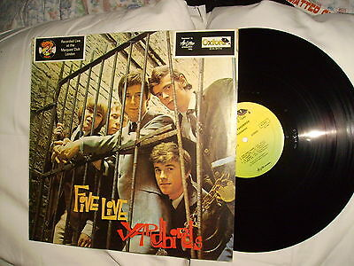 the YARDBIRDS - five live LP ITALY reprint 1980 pop/beat/rock