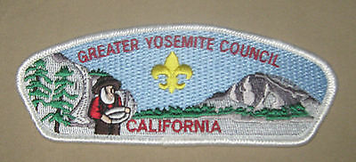 Boy Scout California Greater Yosemite Council Shoulder Patch New CPS