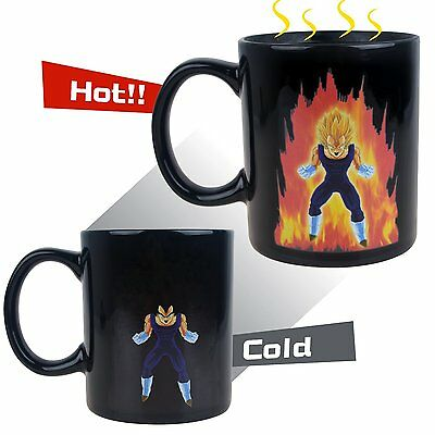 Dragon Ball Z Super Saiyan Vegeta Ceramic Changing Mug