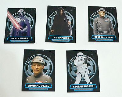 Star Wars ROGUE ONE Mission Briefing Villains Galactic Empire Lot of 5 No Dupes