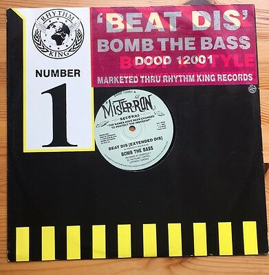 "Bomb The Bass Beat Dis 12"" Vinyl."
