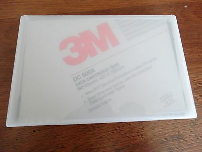 3M DC 600A Data Cartridge 60 MB 620 Feet NOS  Free Shipping