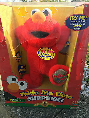 Fisher Price Sesame Street Tickle Me Elmo Surprise: 5th Anniversary Edition