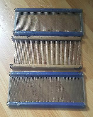 Three 9 Inch Weaving Reeds For Looms