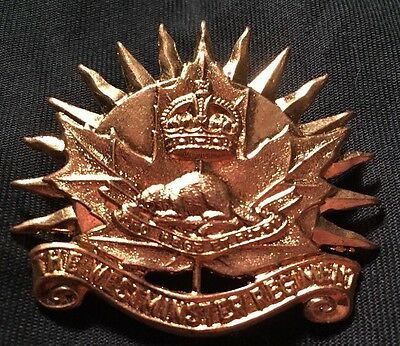 The WESTMINSTER REGIMENT Canadian WWII hat cap badge WW2 Canada SCULLY