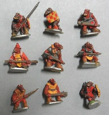 Orc & Troll Army ~ Inc. Main Characters ~ Painted GW Battle for Middle Earth