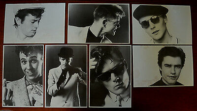 Madness 7 x Promotional Photo Cards, Early 1980's, MIS