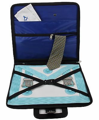 Masonic Regalia MM,WM Apron Case Master Mason, Worshipful, Royal Arch Apron Bag