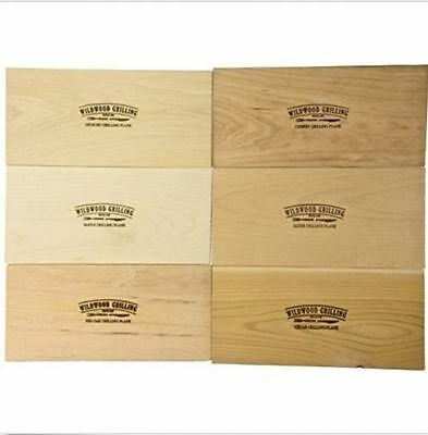 Cedar Grilling Plank Variety Pack of 6 (4x7)