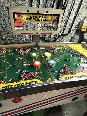 Flipper Calcio Italia No Williams Gottlieb Jamma Elettrogiochi Juke Box