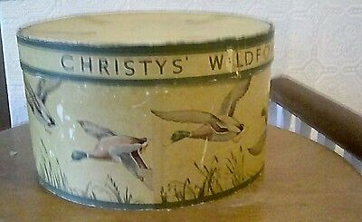 Christy's wildfowl vintage tophat box