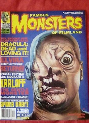 Famous Monsters of Filmland issue no. 210