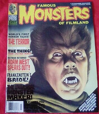 Famous Monsters of Filmland issue no. 207