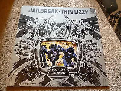 Thin Lizzy Jail Break Album Early Vertigo 1976