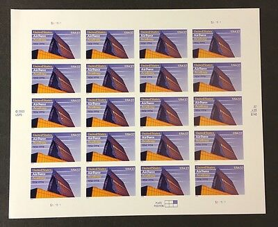 US Stamp Sheets- Scott# 3838 Air Force Academy MNH - Free Ship / Less Than Face!