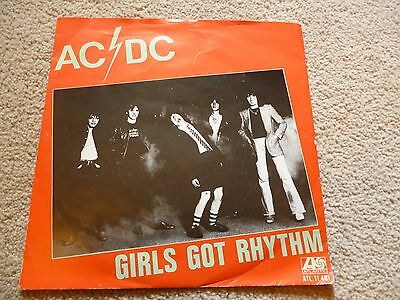 Mega Rare Ac/dc Girls Got Rhythm Dutch Pressing