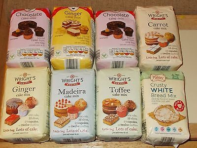 Cake Mixes - Out Of Date