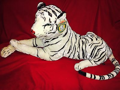 Melissa and Doug Plush Giant White Tiger Large Stuffed Animal Child Kid Toy teen
