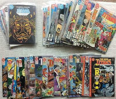 New Teen Titans MASSIVE LOT 84 X issues from 1st and 2nd series (1980) + annuals