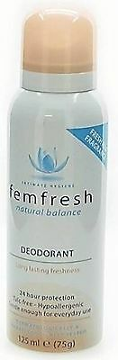 Femfresh Intimate Hygiene Deodorant Spray 125ml
