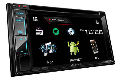 """Kenwood Ddx416Bt 6.2"""" Touchscreen Dvd Cd Bluetooth Usb Ipod Android Car Stereo"""