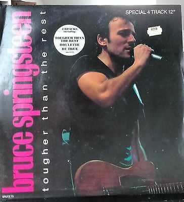 "Bruce Springsteen - Tougher Than The Rest - 12"" vinyl single"