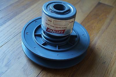 """Lovejoy Variable speed pulley # 33171-P 3/4"""" bore  New  NIB 11+ available"""