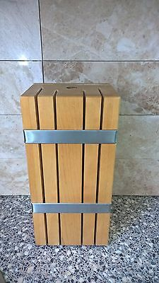 IKEA RETRÄTT Kitchen Tool Knife Block Slot Storage Holder Rack Organizer
