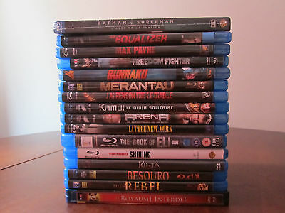 Lot de 16 BLU-RAY dont 1 sous BLISTER