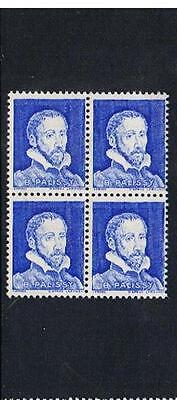 STAMPS   from   FRANCE  TEST BOOKLET STAMPS  Bl./4   (MNH)  lot 1096b
