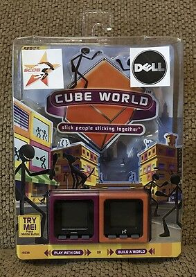 Radica Cube World Series 1 Electronic Toy SEALED Dell