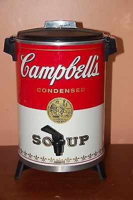 Rare Campbell Soup West Bend 30 Cup Coffee Maker Pot