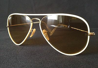 Authentic Ray-Ban Sunglasses Aviator RB3025JM