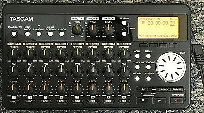 Tascam DP-008 Digital Multi Track Recorder Pocket Studio, 8-Track - GOOD COND!!!