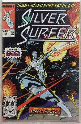 Silver Surfer #25 (1989 Marvel) VF issues.